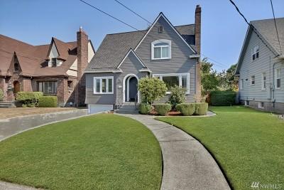 Tacoma Single Family Home For Sale: 943 N Alder