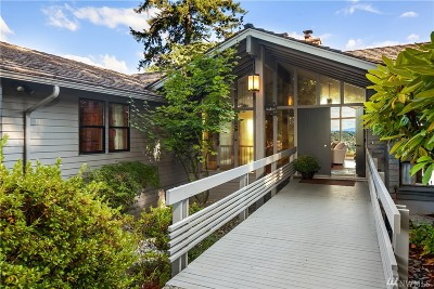 Mercer Island Single Family Home For Sale: 7714 89th Place SE