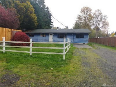 Snohomish Single Family Home For Sale: 18105 Snohomish Ave