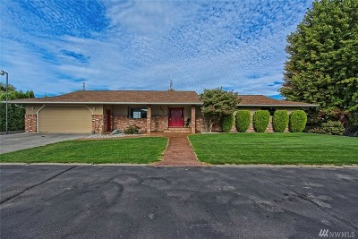 Moses Lake Single Family Home For Sale: 4750 Bluff Dr NE