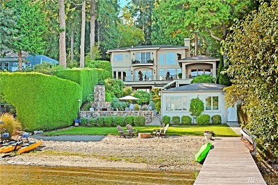 King County Single Family Home For Sale: 104 W Lake Sammamish Pkwy NE