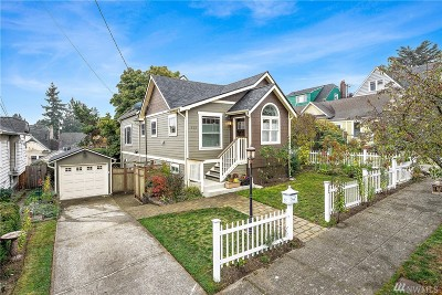 Seattle Single Family Home For Sale: 913 N 84th St