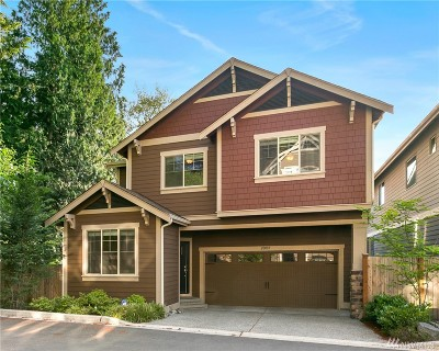 Bothell Condo/Townhouse For Sale: 20003 94th Dr NE