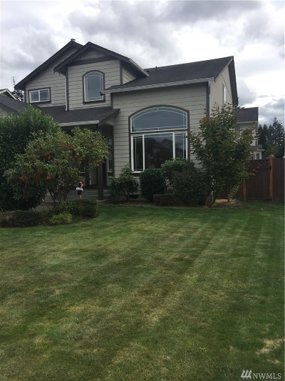 Spanaway Single Family Home For Sale: 8002 207 St E