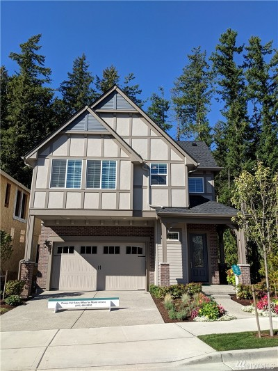 Issaquah Single Family Home For Sale: 499 5th (Lot 21) Ave NE