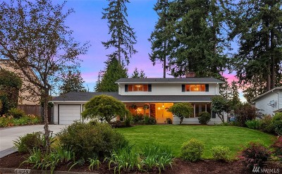 Bellevue Single Family Home For Sale: 4935 126th Ave SE