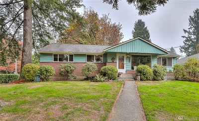 Lake Forest Park Single Family Home For Sale: 18736 50th Ave NE
