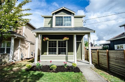 Seattle Single Family Home For Sale: 502 S Trenton St