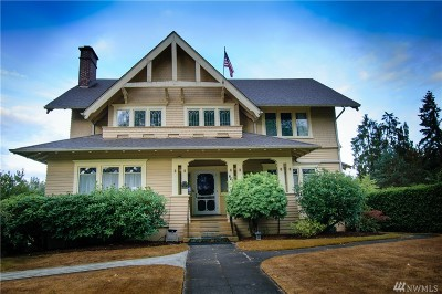 Chehalis Single Family Home For Sale: 461 Pennsylvania Ave
