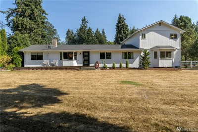 Anacortes, La Conner Single Family Home For Sale: 11103 Happy Valley Rd