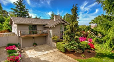 Yarrow Point Single Family Home For Sale: 9035 34th St