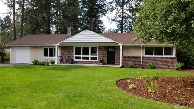 Lakewood Single Family Home For Sale: 9808 Hipkins Rd SW