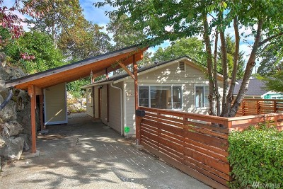Seattle Single Family Home For Sale: 3912 S Findlay St