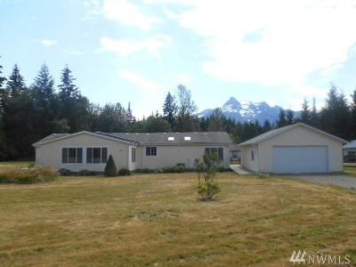 Snohomish County Single Family Home For Sale: 46606 Giles Rd