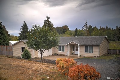 Shelton WA Single Family Home For Sale: $299,000