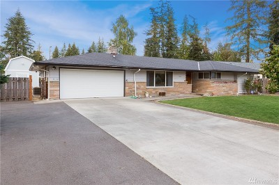 Marysville Single Family Home For Sale: 4515 105th Place NE