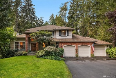 Woodinville Single Family Home For Sale: 20329 194th Place NE