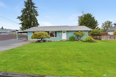 Puyallup Single Family Home For Sale: 510 16th St SW
