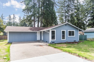 Spanaway Single Family Home For Sale: 1716 165th St Ct E