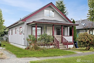 Sedro Woolley Single Family Home Pending Inspection: 406 Puget Ave
