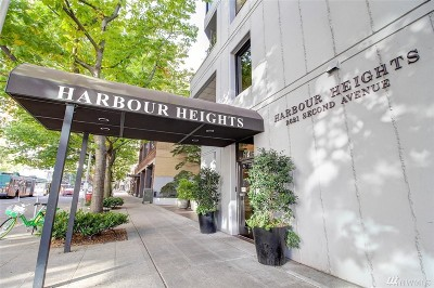 Condo/Townhouse For Sale: 2621 2nd Ave #503