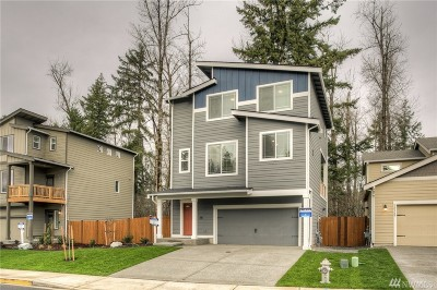 Puyallup Single Family Home For Sale: 12125 172nd St Ct E #21