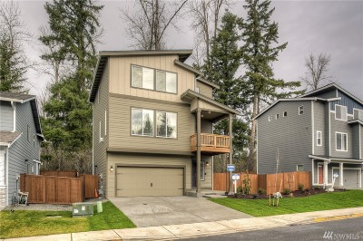 Puyallup Single Family Home For Sale: 12123 172nd St Ct E #22