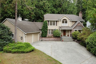 Sammamish Single Family Home For Sale: 2721 223rd Ave NE