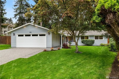 Redmond Single Family Home For Sale: 7711 135th Place NE
