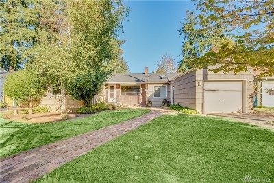 Shoreline Single Family Home For Sale: 15522 1st Ave NW