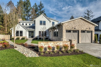 Sammamish Single Family Home For Sale: 842 245th Place NE #Lot 7