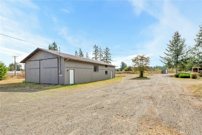 Yelm Single Family Home For Sale: 11831 Bald Hill Rd SE