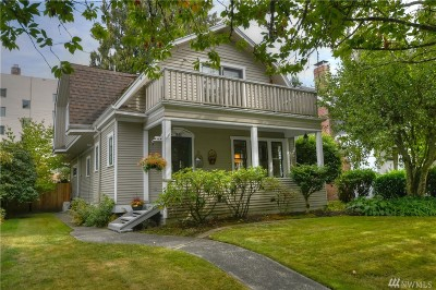 Olympia Single Family Home For Sale: 1522 Columbia St SW