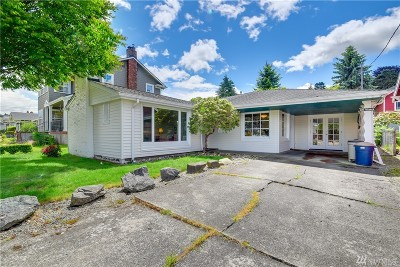 Everett Single Family Home For Sale: 606 Warren St