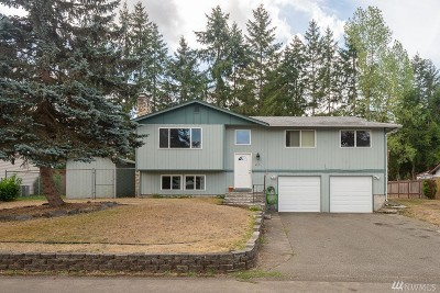 Spanaway Single Family Home For Sale: 4818 223rd St E