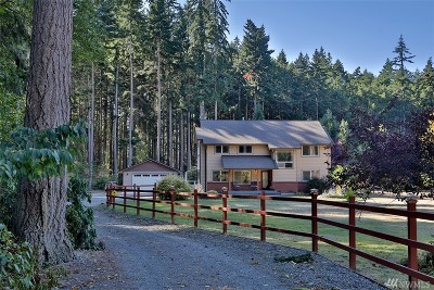 Coupeville WA Single Family Home For Sale: $549,500