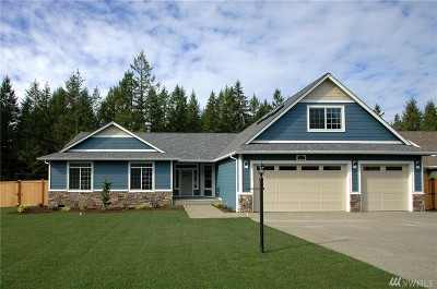 Yelm Single Family Home For Sale: 12026 Maxvale Hill Ct SE
