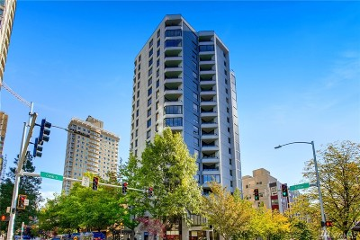Condo/Townhouse For Sale: 2621 2nd Ave #803