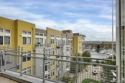 Tacoma Condo/Townhouse For Sale: 1705 Dock St #514
