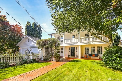 Shoreline Single Family Home For Sale: 18209 6th Ave NW