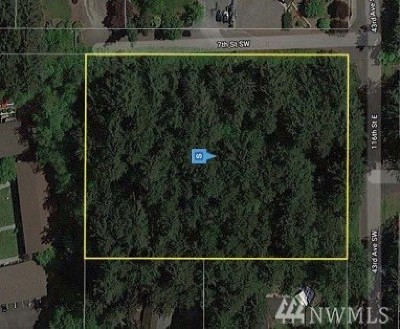 Puyallup Residential Lots & Land For Sale: 1 7th St SW
