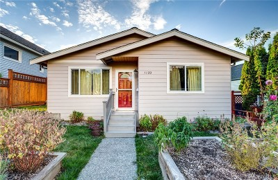 Bellingham Single Family Home For Sale: 1733 King St