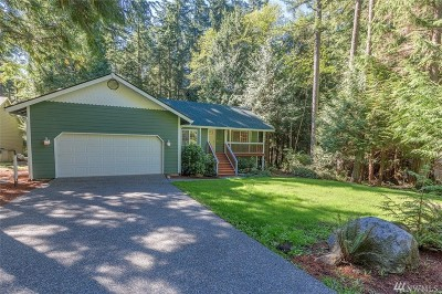 Port Ludlow WA Single Family Home For Sale: $399,500