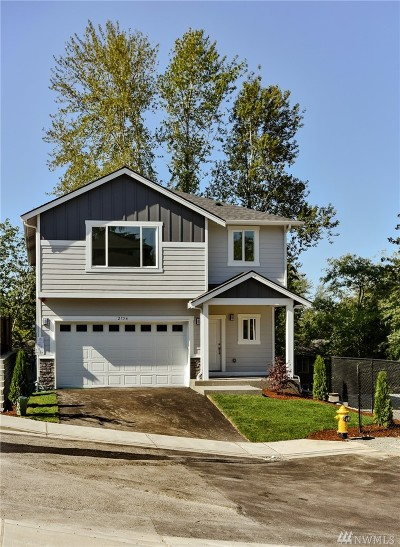 Burien Single Family Home Contingent: 2754 S 120th Place