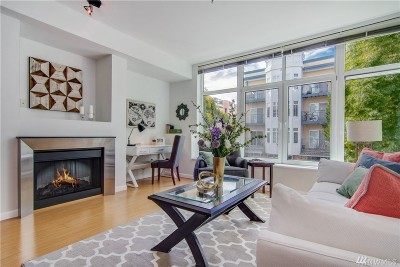 Condo/Townhouse For Sale: 17 W Mercer St #108