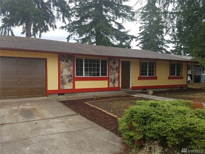 Yelm Single Family Home For Sale: 1109 Rhoton Ct NW