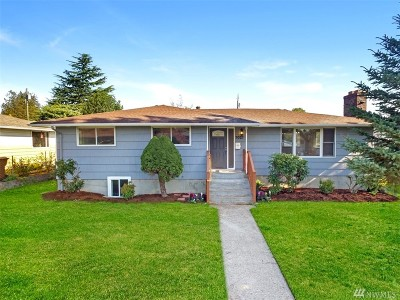Single Family Home For Sale: 7027 Tacoma Ave S