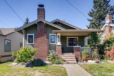 Seattle Single Family Home For Sale: 6717 Fauntleroy Wy SW