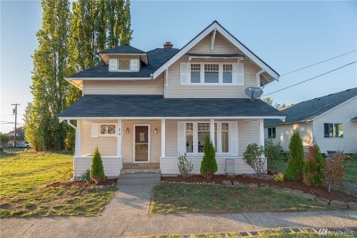 Chehalis Single Family Home For Sale: 84 SW 11th St