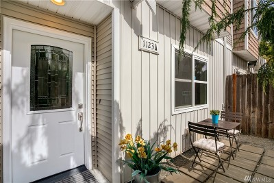Seattle Single Family Home For Sale: 1123 N 94th St #A